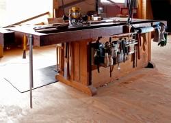 My Workbench 背面ツールレスト