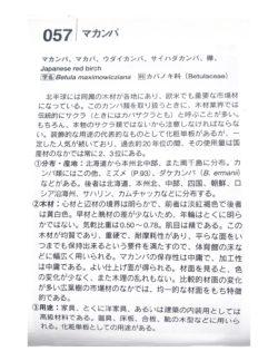『慧海の木材200種』(産調出版)より