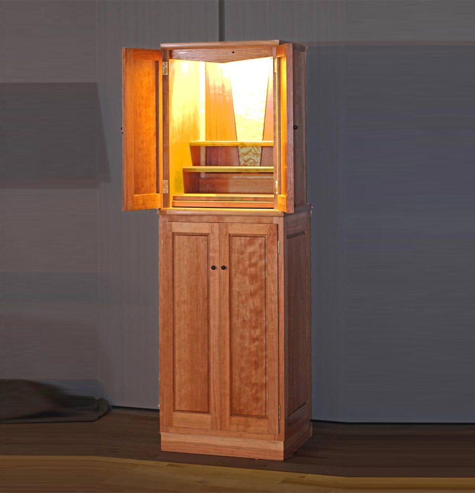 チェリー材の仏壇